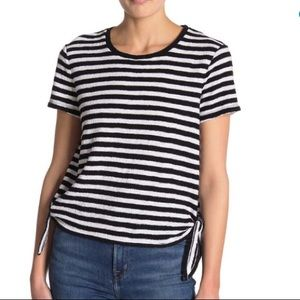 Madewell Stripe Side-Tie Tee